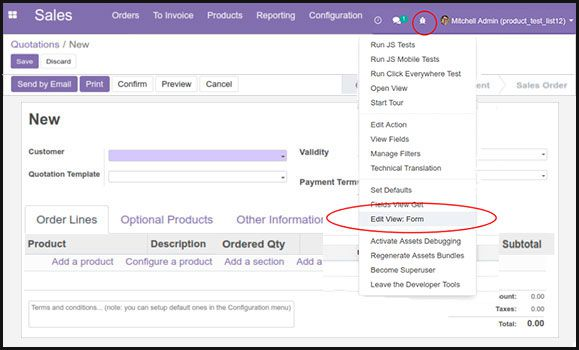 add fields to form view in odoo