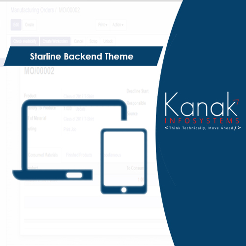 Starline Backend Theme