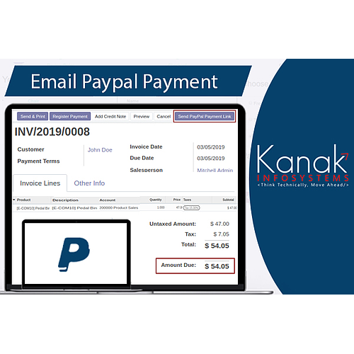 Email Paypal Payment