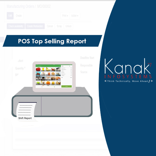 POS Top Selling Report
