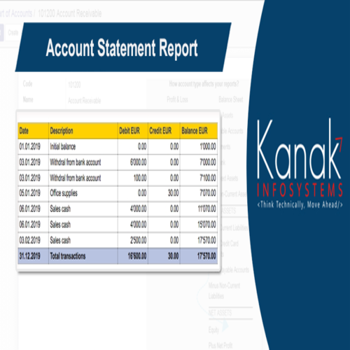 Account Statement Report