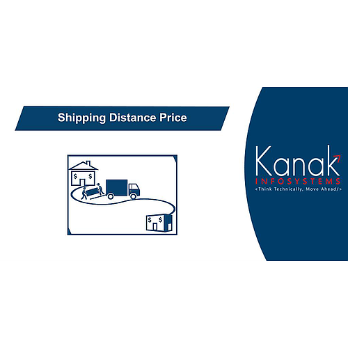 Shipping Price Base On Distance