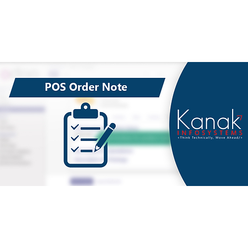 POS Order Note Module
