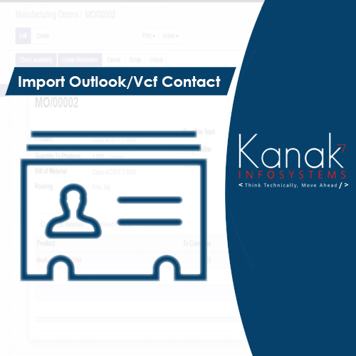 Import Outlook/Vcf Contact
