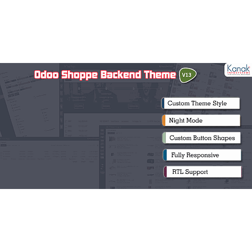 Odoo Shoppe Backend Theme