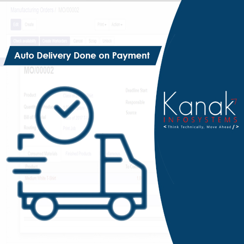 Auto Delivery Done on Payment