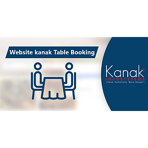 Website kanak Table Booking
