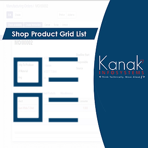 Shop Product Grid List