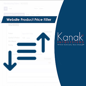 Website Product Price Filter