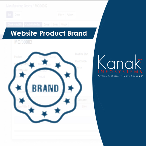 Website Product Brand