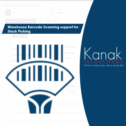 Warehouse Barcode Scanning support for Stock Picking