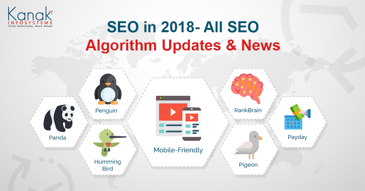 SEO in 2018- All SEO Algorithm Updates & News