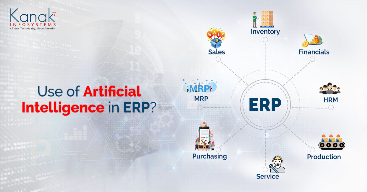 Use Of Artificial Intelligence In ERP?