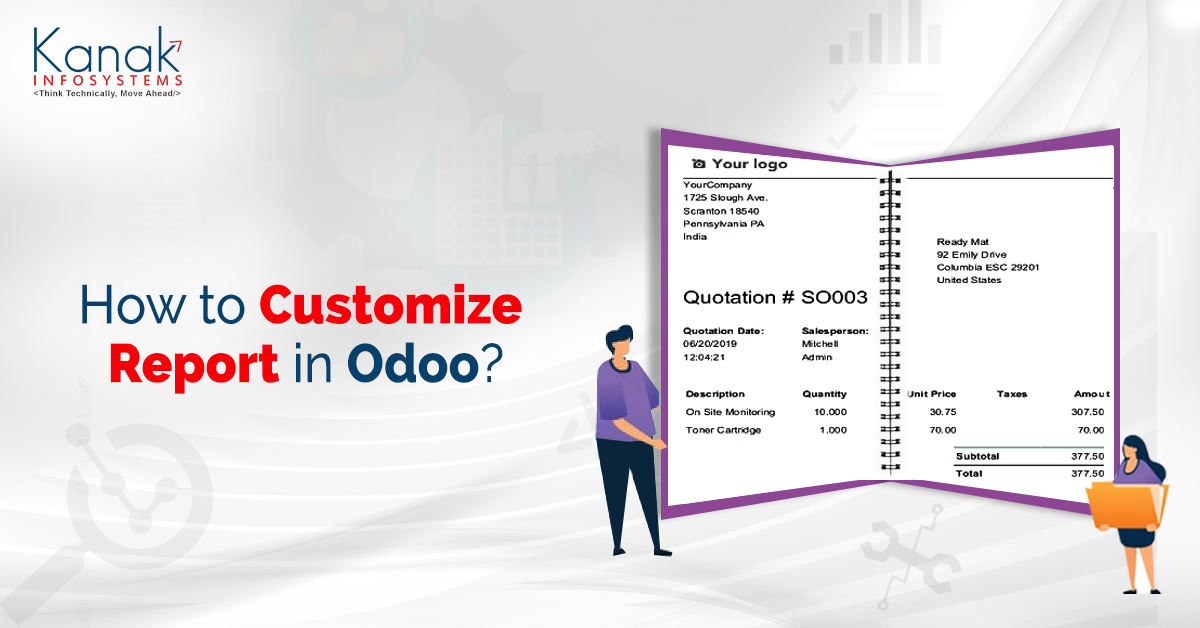 How To Customize A Report In Odoo
