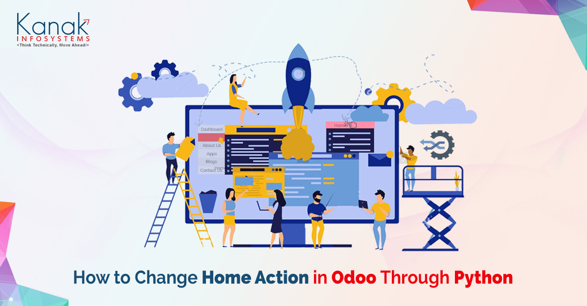 How to Change Home Action in Odoo Through Python