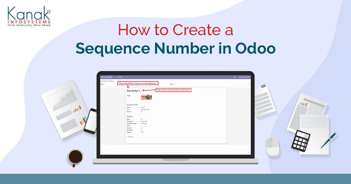 How To Create a Sequence Number In Odoo