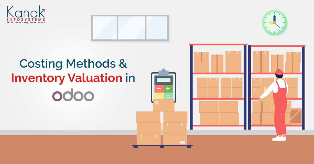 Costing Methods and Inventory Valuation in Odoo 13