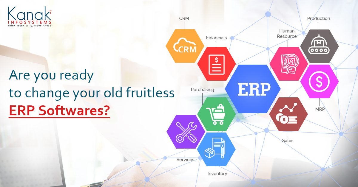 Are You Ready To Change Your Old Fruitless ERP Software's?